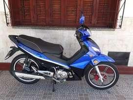 Gilera smash r 125cc 2018 5000km recibo moto