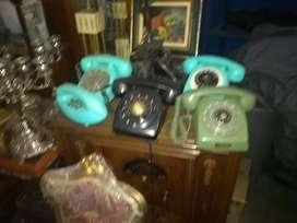 Teléfonos antiguos años 70