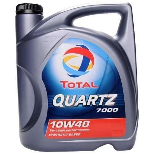 Aceite Semisintetico Quarz 7000 10w 40 Nafta/Diesel 4lts 0