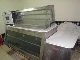 Remato Congeladora Exhibidora,  Vitrina Térmica Exhibidora y Horno