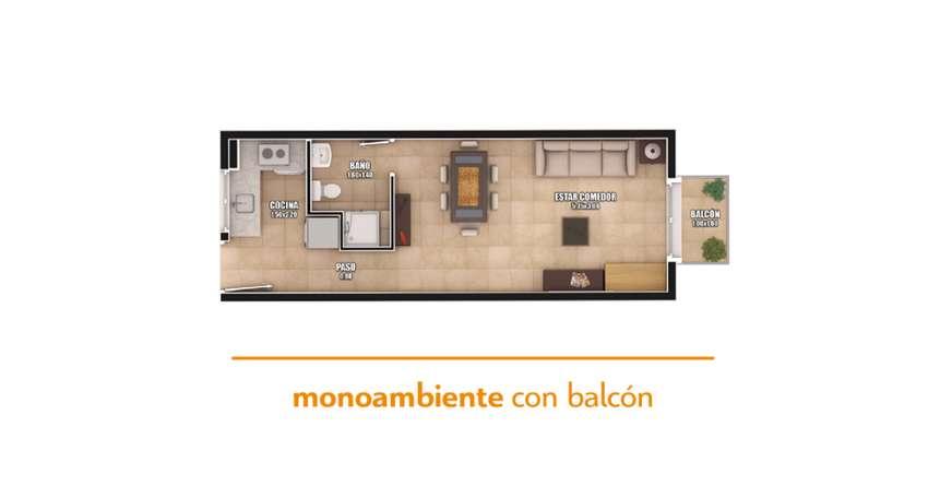 Pre Venta Monoambiente A Estrenar En San Luis Capital 0