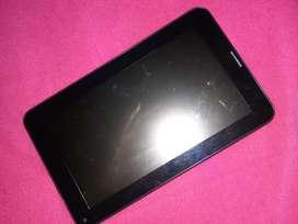 Vendo  tablet muy  cuidada solo pin entrada roto.