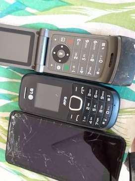Nokia Motorola y LG repuesto