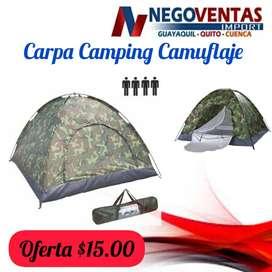 CARPA CAMPING CAMUFLAJE