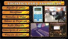 Alquiler Logística Asambleas Medellin Votación Virtual