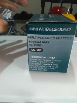 Cargador múltiple AC / DC marca nobelsound