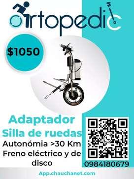 Silla de ruedas eléctrica. Electric handcycle
