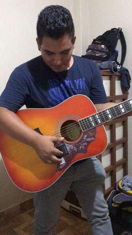 Vendo guitarra epiphone hummingbird