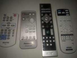 Controles  remoto  para videobeams