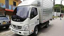 Vehículo furgon de carga modelo 2020