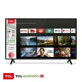 Smart TV TCL 32 HD androide, comando por voz, bluetooth, chromecast