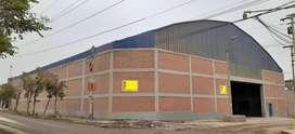 Venta ó Alquiler Local 1750 m2 en Huachipa-Lima. Para estrenar