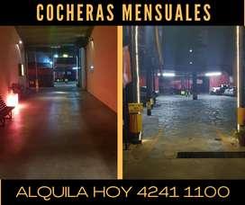 COCHERAS MENSUALES 24HS LANUS OESTE