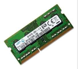 Memoria Ram PC3 de 4Gb para Portátil