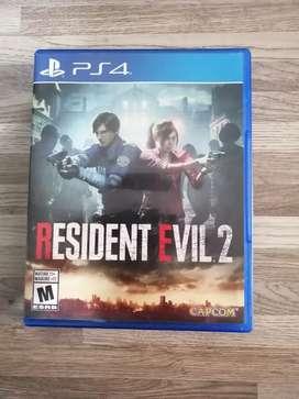 JUEGO RESIDEN EVIL 2 PS4