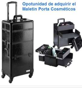 Maleta Organizadora De Maquillaje Grande