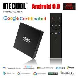 Tv Box Android 9 Mecool Km9 Pro Classic Google Certificada