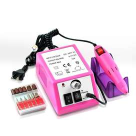 Kit Pulidor de Uñas Profesional Electrico Manicura Pedicura MZ000