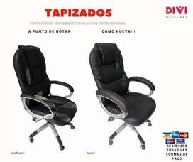Tapizados para todo tipo de sillas, salas y sofás
