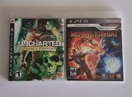 Mortal kombat y uncharted