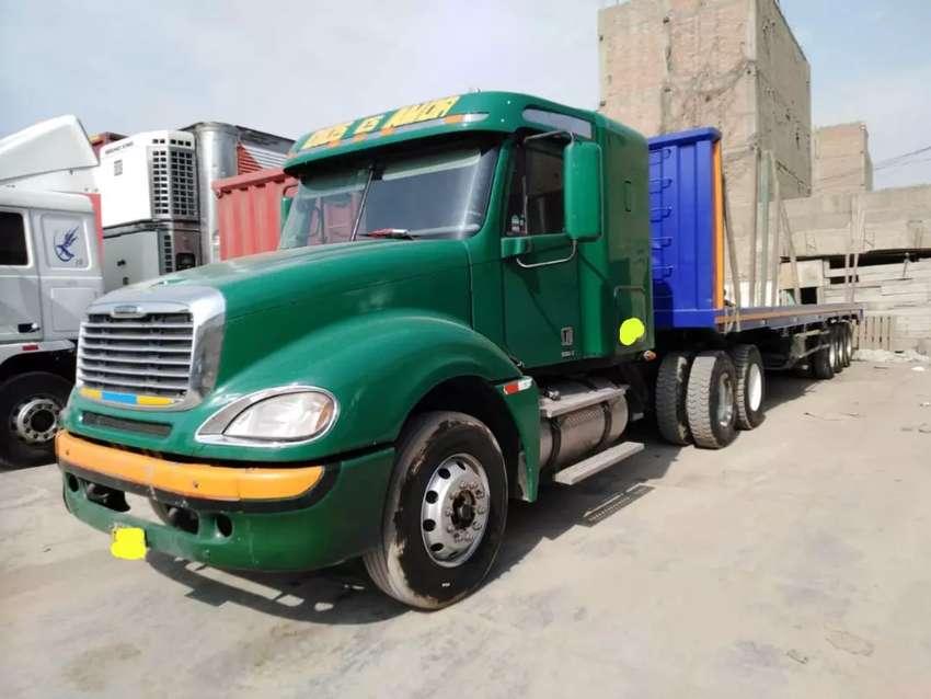 Camion Tracto Freightliner Columbia 2011 + Carreta 2016 0