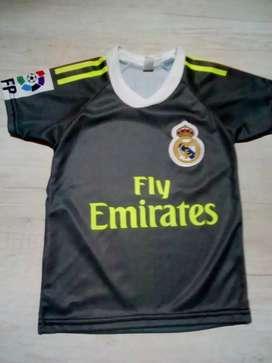 Camisetas de fútbol niño talle 4y6