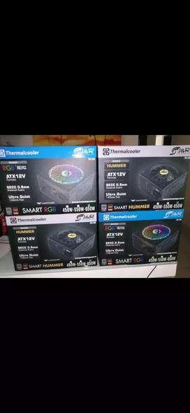 Fuente de poder 650 real certificada 8plu RGB