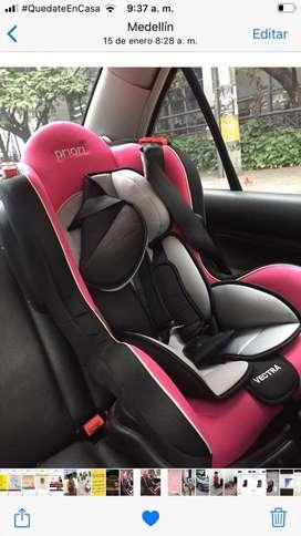 Silla de bebe para el carro