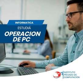 Estudia Operador de PC
