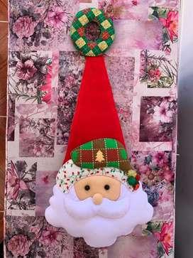 Colgapuerta navideño