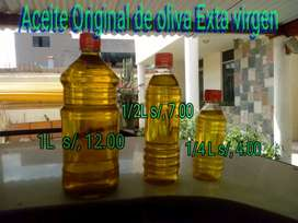Venta de aceite de oliva extra virgen. 100% puro