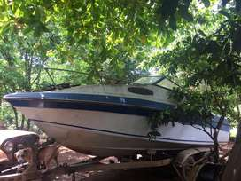 Vendo casco de sunbird 20 ft