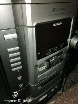 Equipo de sonido Sony RG 88