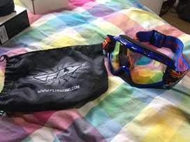 Gafas gogels para bici o moto cross marca fly