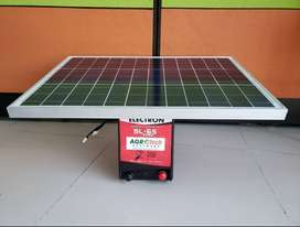 Impulsor para cerca Electrica con panel solar