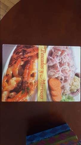 libro de pescados y mariscos