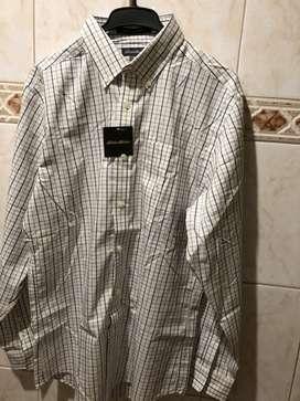 Camisa manga larga . Marca Eddie Bauer, talla Small