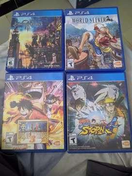 Juegos de PS4 cambio