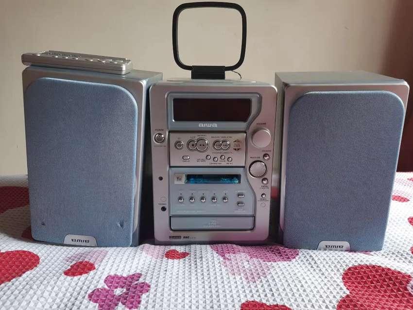 Equipo de sonido AIWA Japonés mod XR-MD510 0