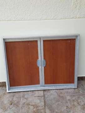Puertas de Aluminio Y Madera