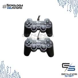 Kit Control De Juegos Gamepad Usb, 2x1 Análog Y Digital