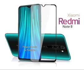 Glass Templado Curvo 5d Para Xiaomi Redmi Note 8 Full Cover