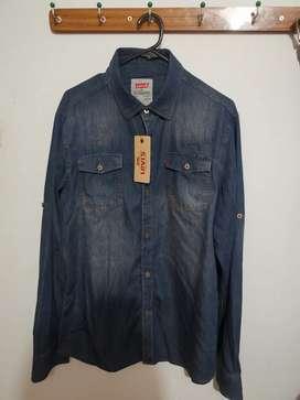 Camisa Levis para Hombre Talla M a S/ 80.00