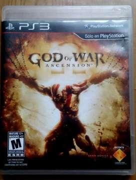 Juegos Ps3 God Of War Ascension Remate