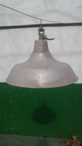 lampara para galpon aluminio y galvanizado usados