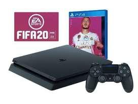 Play Station 4 + FIFA 20 Digital