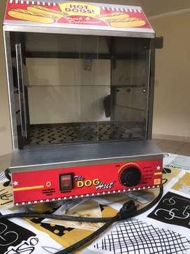 Maquina Americana para hot dogs a vapor