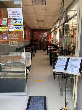 Traspaso de restaurante _ 2 cuadras de la plaza de armas Tacna