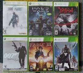Cambio juegos de xbox 360 originales por otros títulos
