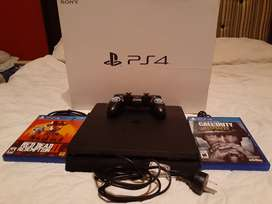 Vendo PlayStation 4 impecable
